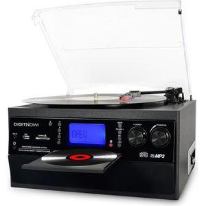 RADIO CD CASSETTE DIGITNOW! Platine Vinyle Bluetooth Tourne-Disque U