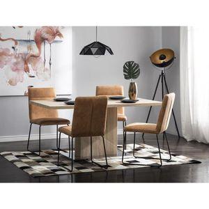 TABLE À MANGER SEULE Table de salle à manger gris sonoma Pasadena