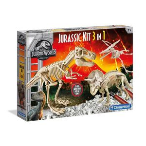 HISTOIRE - GEO CLEMENTONI Archéo Ludic Jurassic World - Coffret 3
