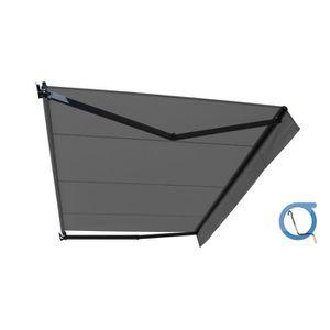STORE - STORE BANNE  Store banne manuel loggia 3x2 m gris sans coffre -