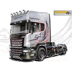 maquette camion scania achat vente jeux et jouets pas chers. Black Bedroom Furniture Sets. Home Design Ideas