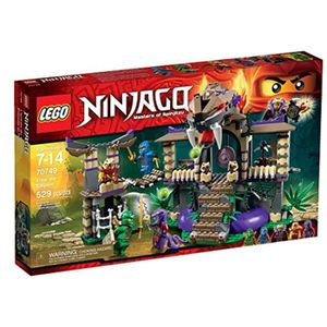 ASSEMBLAGE CONSTRUCTION Jeu D'Assemblage LEGO D82IN 70749 Ninjago Enter Th