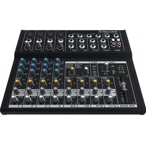 TABLE DE MIXAGE Mackie MIX12FX - Table de mixage 12 voies avec ...