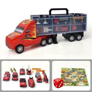 TRACTEUR - CHANTIER Jouet Camion de Pompiers en Plastique et en métal