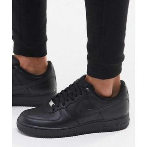 BASKET Baskets Nike Air Force 1 Low Noirs 315122-001.
