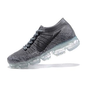 Basket Nike Flyknit Air Vapormax Sports de Homme Chaussures L'or noir qn325