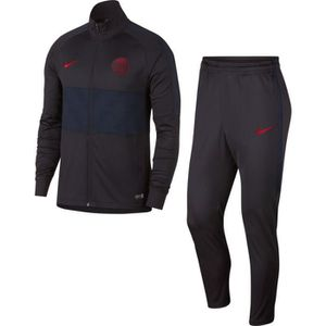 TENUE DE FOOTBALL SURVETEMENT PSG PARIS NEWS TOP ADULTE NOIR/RED 201