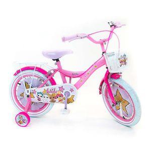 VÉLO ENFANT LOL Surprise Vélo Enfant Fille 16 Pouces Frein Ava