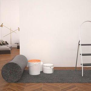 2 x peintre toile peintre Tapis 50 M peintre Support Bâche De Protection Peintre Couverture 270g//m²