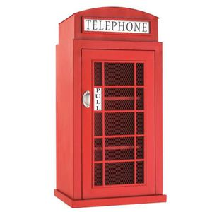 Etagere telephone achat vente etagere telephone pas - Meuble cabine telephonique anglaise ...
