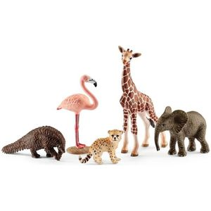FIGURINE - PERSONNAGE Schleich Figurine 42388 - Animal sauvage - Lot 5 a