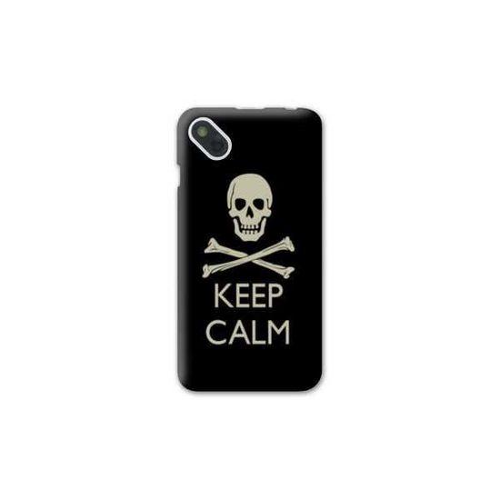 Coque Wiko Sunny Keep Calm - - Tete mort N - Achat coque - bumper ...