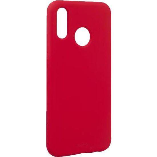 Coque semi-rigide rouge Icon Puro pour Huawei P20 Lite - Cdiscount ...
