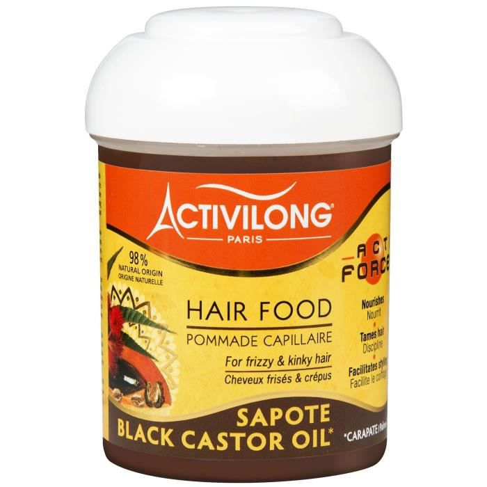 ACTIVILONG Pommade capillaire Actiforce Hair Food - Carapate et sapote - 125 ml