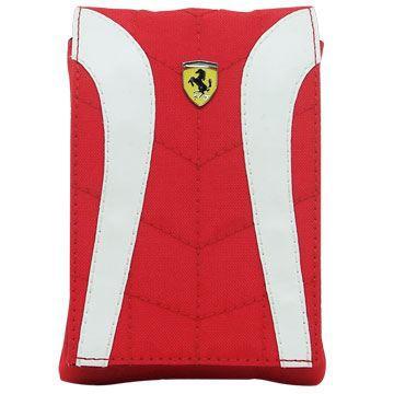 Etui à rabat rouge et blanc Scuderia Ferrari F1