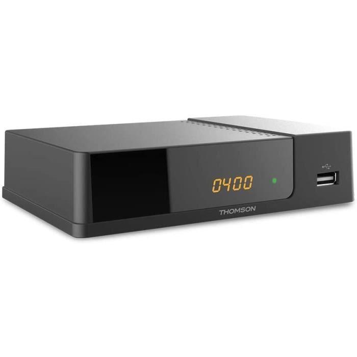 THOMSON THT709 Décodeur TNT Full HD -DVB-T2 - Afficheur - Compatible HEVC265 - Récepteur-Tuner TV avec Fonction enregistreur (HDMI,