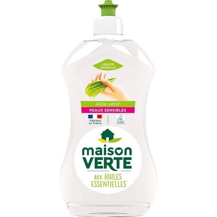 MAISON VERTE Liquide Vaisselle Peaux Sensibles - 500 ml