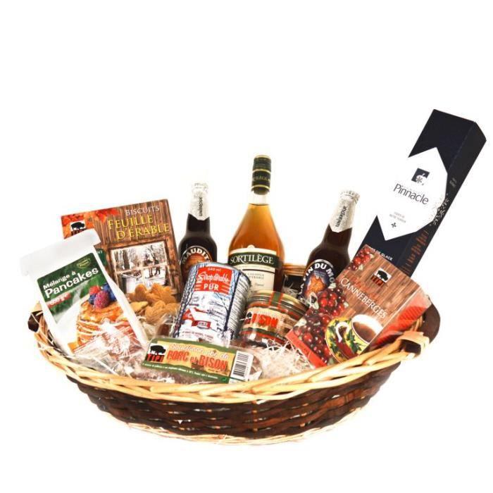 Panier garni - Coffret cadeau - Voyage Gourmand