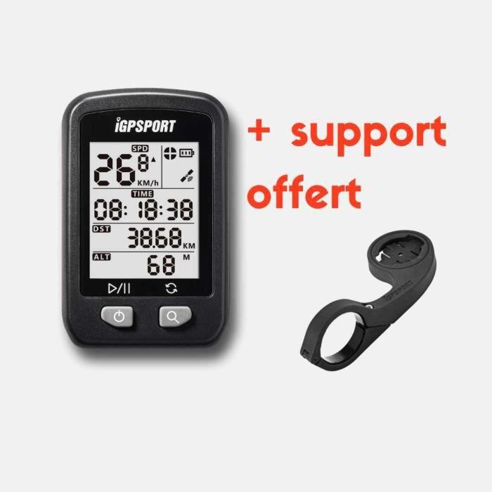 Compteur GPS - Pack IGS20E-S Le Compteur GPS Challenger & Support déporté