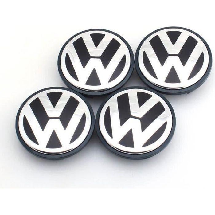 4 x centres de roue caches moyeux vw 56mm pour VOLKSWAGEN 1j060117