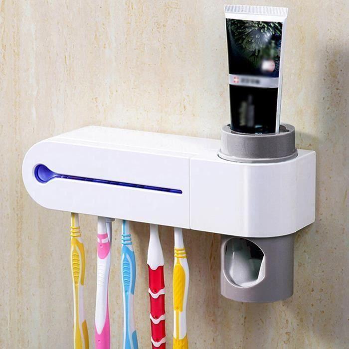 2 en 1 EU plug Stérilisateur pour brosse à dents désinfection automatique