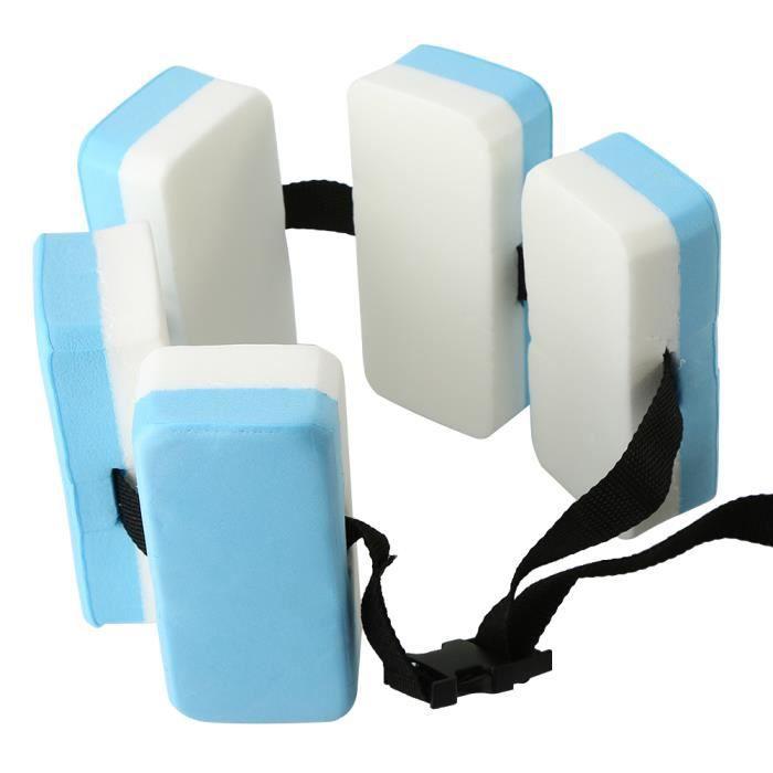 AYNEFY Ceinture de bain Exercice aquatique auxiliaire EVA enfants aide à l'entraînement de natation ceinture de soutien planche de