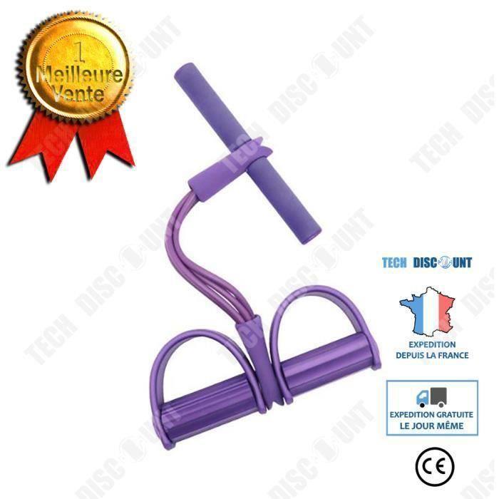 Multi-fonction tension corde pédale corde élastique tendeur de jambe crunchs abdominaux équipement de fitness abdominal COSwk33242