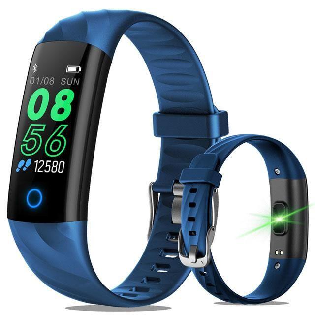 Extérieur étanche Sport Bracelet intelligent Fitness Tracker tension artérielle moniteur de fréquence cardiaque montre intelligente