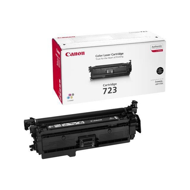 Canon Pack de 1 cartouche de toner 723 Noir capacité standard 5000 pages