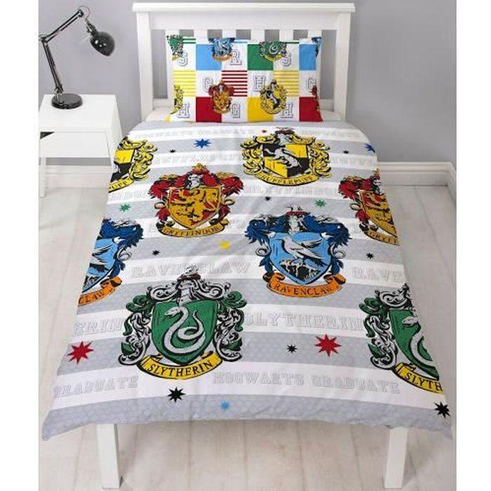 Housse de couette Harry Potter - Parure de lit Harry Potter