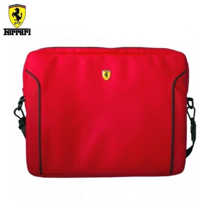 Ferrari Fiorano Housse pour Ordinateur Portable 13' Rouge