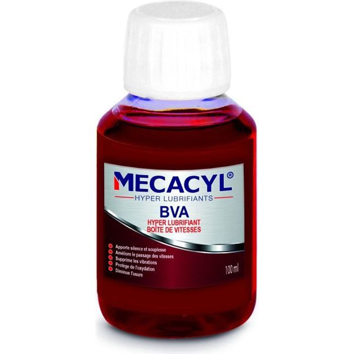 MECACYL BVA Hyper-Lubrifiant spécial boites de vitesses automatiques (classique, tiptronic…) - 100ml