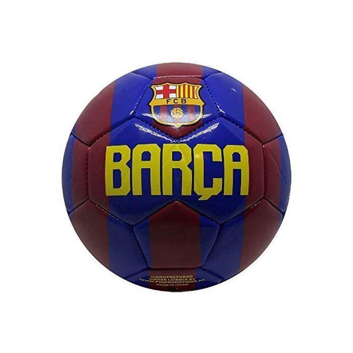 CASARI B.V. Ballon de Football Barcelone n° 2 2Var pour Enfant Rouge/Bleu Taille 5