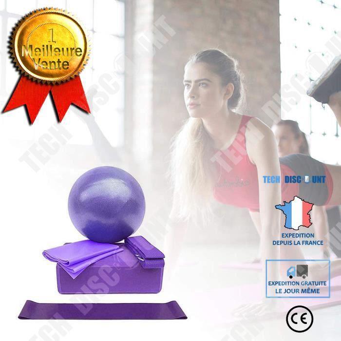 TD® Kit de démarrage de yoga Ensemble d'équipement de yoga 5 pièces accessoires de yoga
