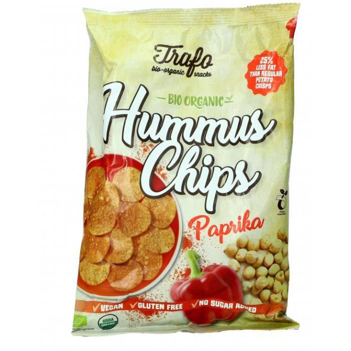 Nos courses Bio - Chips houmous paprika 75gr