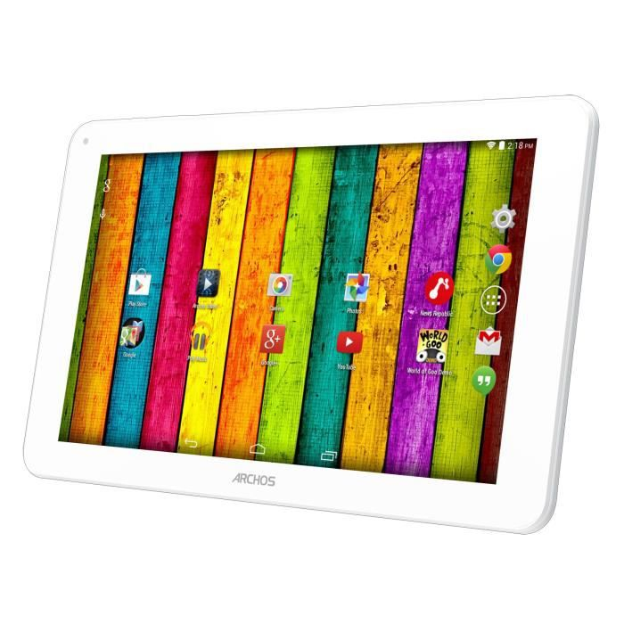 tablette tactile archos 101b neon blanc 16 gb achat. Black Bedroom Furniture Sets. Home Design Ideas
