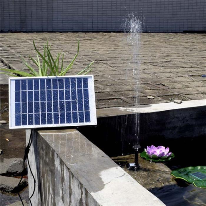 POMPE - FILTRATION  5WFontaine Solaire Extérieur, Pompe à Eau Solaire