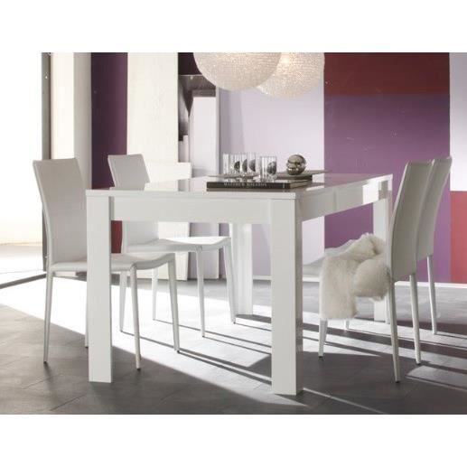 Table de salle manger design laila l 180 x p 90 x h 76 for Table salle a manger 250 cm