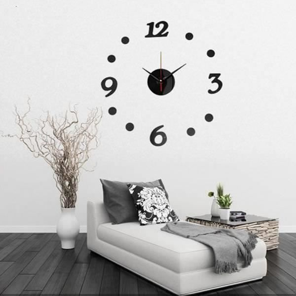 horloge murale sans cadre 8719178382062 achat vente horloge pendule soldes d s le 10. Black Bedroom Furniture Sets. Home Design Ideas