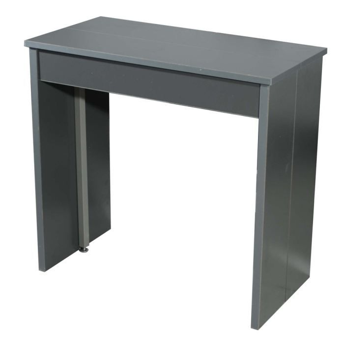 console bureau gris. Black Bedroom Furniture Sets. Home Design Ideas