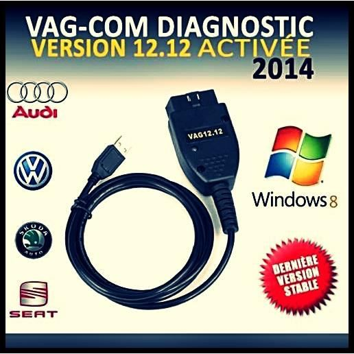 diag valise vcds vag com version 2014 100 achat vente outil de diagnostic diag. Black Bedroom Furniture Sets. Home Design Ideas