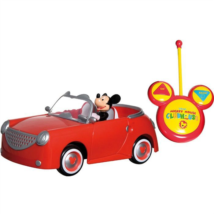 voiture rc preschool mickey achat vente voiture camion soldes cdiscount. Black Bedroom Furniture Sets. Home Design Ideas