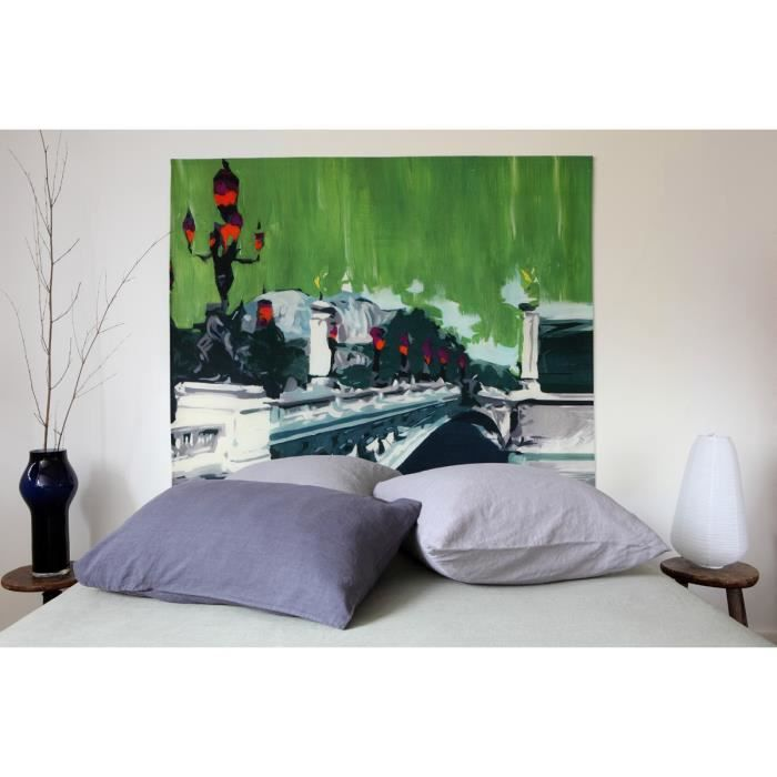 t te de lit pont alexandre iii 160 140 cm achat vente t te de lit cdiscount. Black Bedroom Furniture Sets. Home Design Ideas