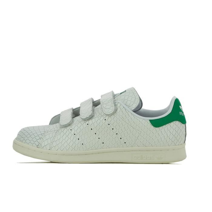 stan smith cf velcro grise