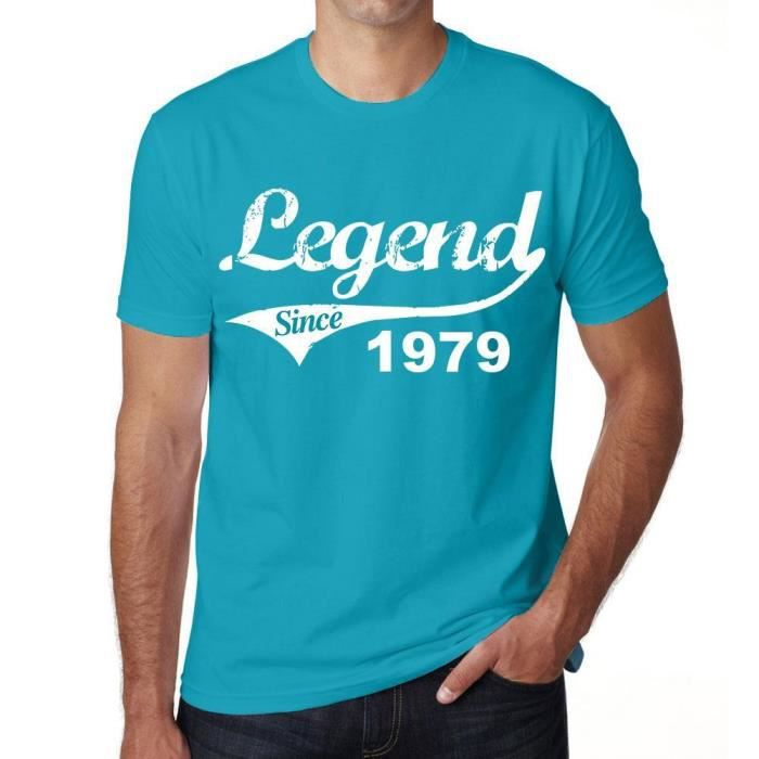 T-SHIRT 1979 legend since tshirt homme tshirt ideal