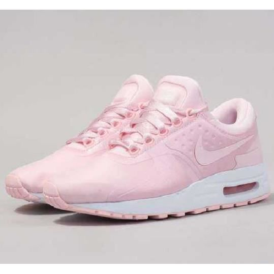 Baskets Nike Air Max Zéro SE, Modèle GS 917863 600 Rose