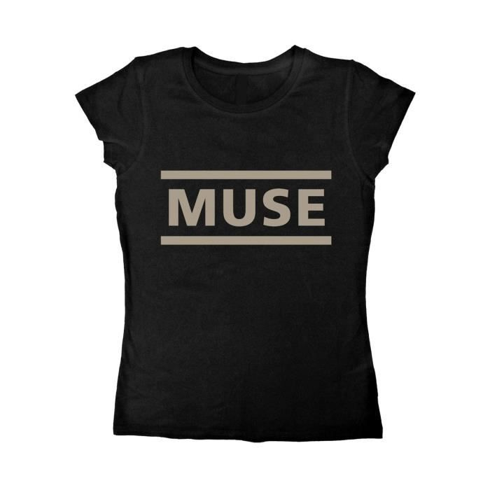 T-SHIRT Ladies Muse Logo Matt Bellamy Rock Heavy Metal Aut