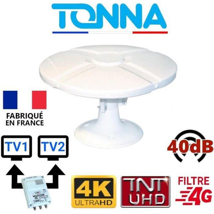 Tv numérique antenne portable pour camping caravane camping-car freeview antenne dtv
