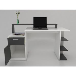 bureau college achat vente bureau college pas cher cdiscount. Black Bedroom Furniture Sets. Home Design Ideas