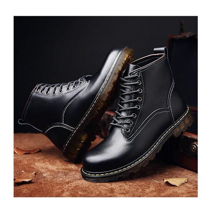 Bottine-boots homme tendon de boeuf est doux et confortable LLT-XZ3078